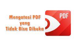 Cara Mengatasi File PDF Tidak Bisa Dibuka